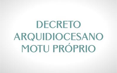 Decreto Arquidiocesano