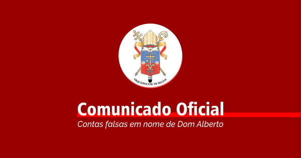 Contas falsas em nome de Dom Alberto