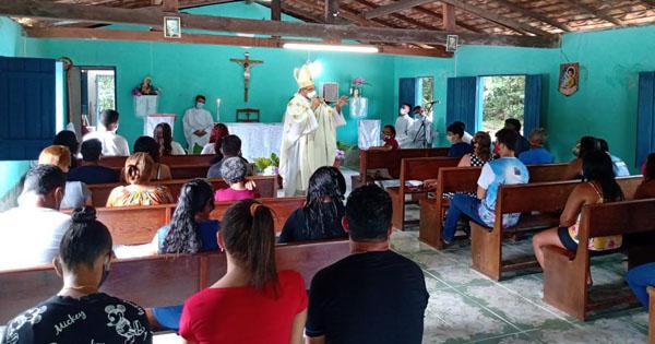 Visita Missionária na Ilha João Pilatos