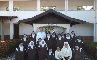 Visita canônica Carmelo de Santa Teresinha- Benevides